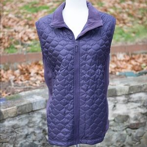Ll bean 3XL light puffer vest purple